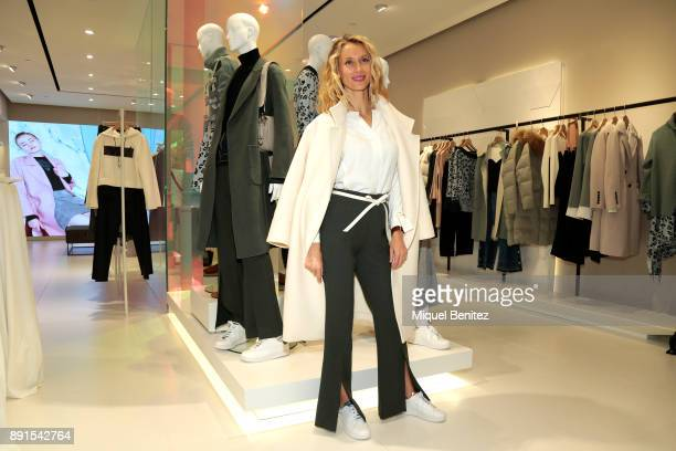 Vanessa Lorenzo attends the Lily Nwe Opening Store at Rambla de Catalunya on December 13 2017 in Barcelona Spain