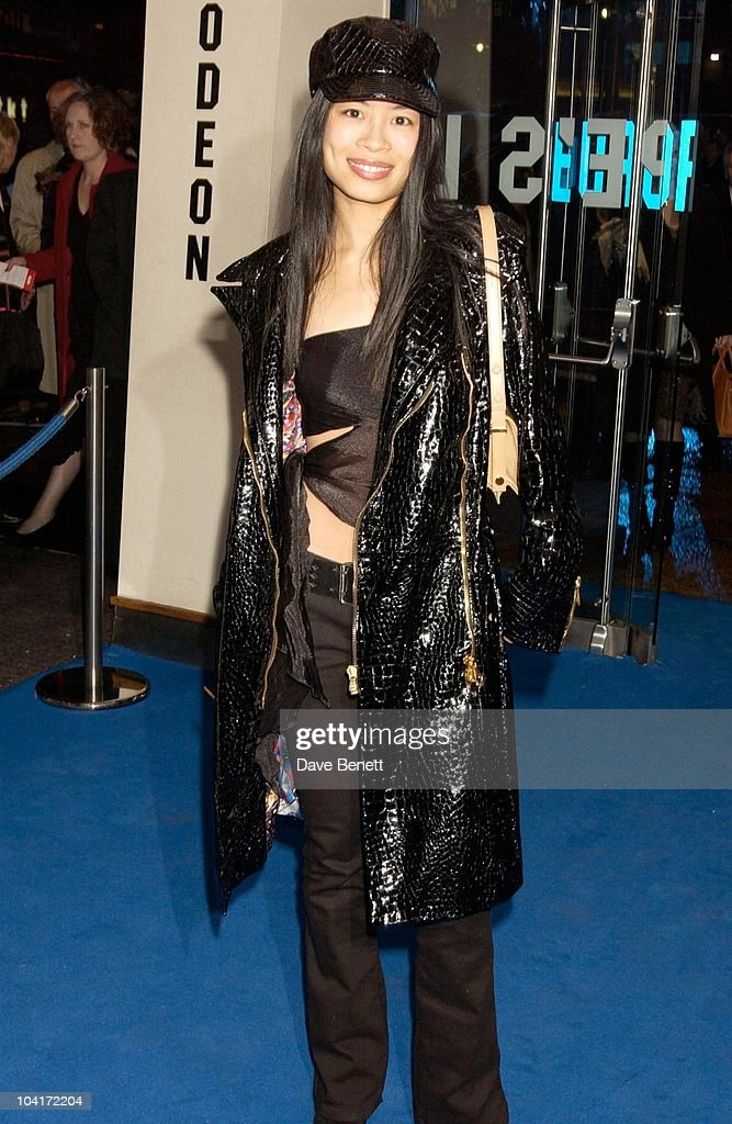 Vanessa Mae, 'Master And Commander: The Far Side Of The World' Royal Premiere At The Odeon Leicester Square, London