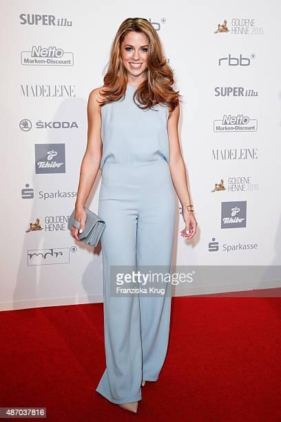 Vanessa Mai attends Madeleine At Goldene Henne 2015 on September 05 2015 in Berlin Germany
