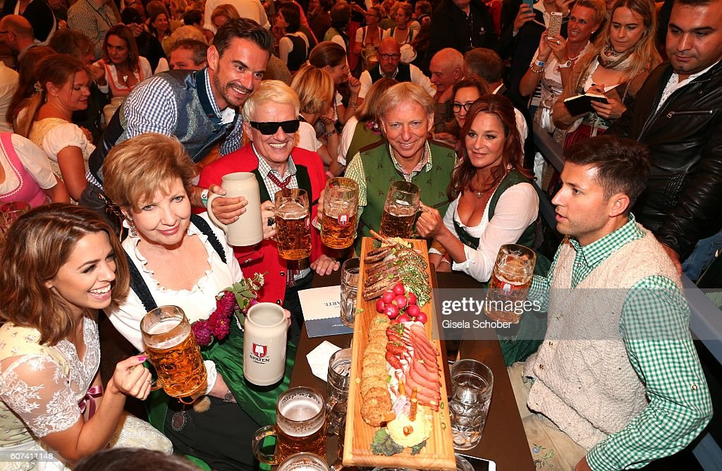 Celebrities At Oktoberfest 2016 - Day 1