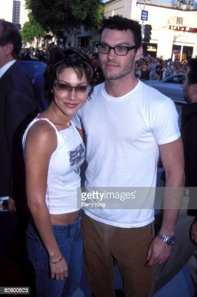 Vanessa Marcil and Brian Austin Green