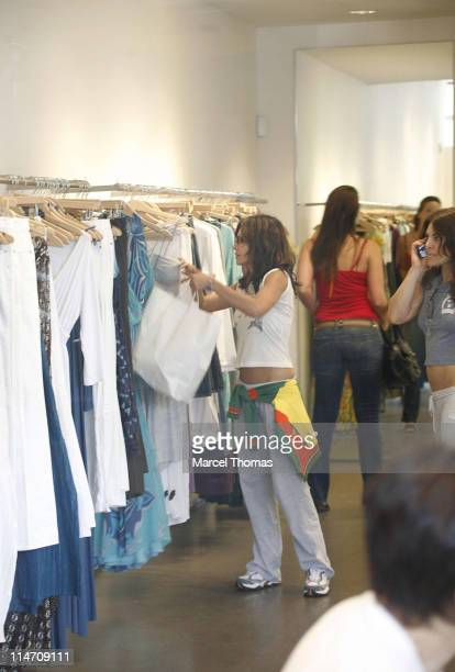 Vanessa Marcil and Gillian Smalls during Vanessa Marcil Sighting June 17 2006 in New York City New York United States