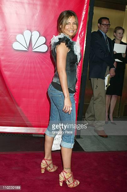 Vanessa Marcil during 2005/2006 NBC UpFront Red Carpet at Radio City Music Hall in New York City New York United States