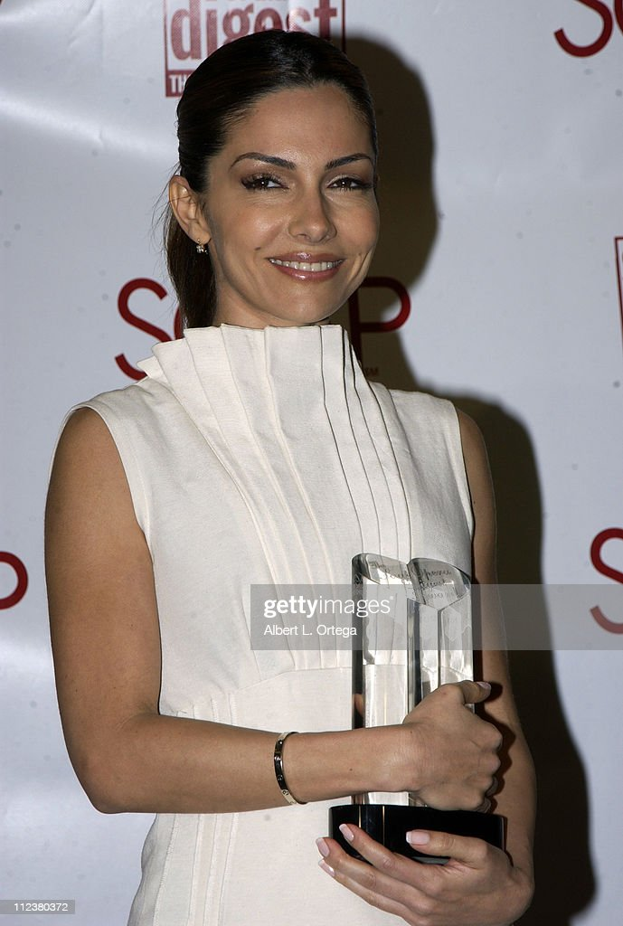 Vanessa Marcil during Soapnet Presents The Soap Opera Digest Awards - Press Room at ABC Prospect Studios in Los Angeles, California, United States.