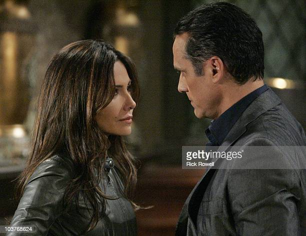 HOSPITAL Vanessa Marcil Giovinazzo and Maurice Benard in a scene that airs the week of September 6 2010 on ABC Daytime's 'General Hospital' 'General...