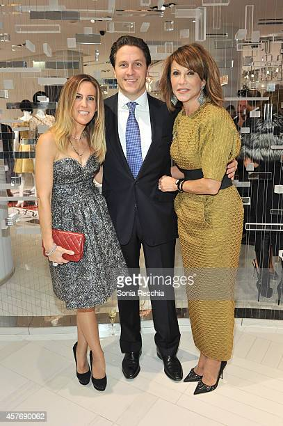 Vanessa Mark and Mila Mulroney attend Hudson's Bay And The Isabella Blow Foundation Present Fashion Blows at The Hudson's Bay on October 22 2014 in...