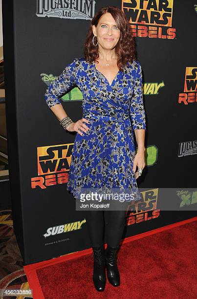 """Vanessa Marshall arrives at the Los Angeles special screening """"Star Wars Rebels"""" at AMC Century City 15 theater on September 27, 2014 in Century..."""