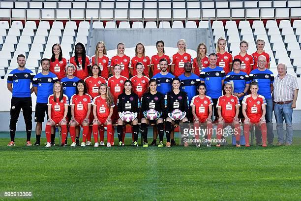 Vanessa Martini Kozue Ando Henrike Sahlmann Alissa Tolksdorf Lisa Weiss Jil Struengmann Manjou Wilde Ina Lehmann and Linda Dallmann Goalkeeper coach...