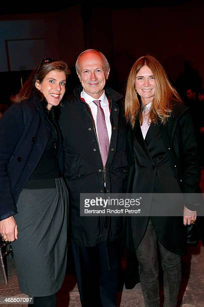 Vanessa Menesguen and CEO of L'Oreal JeanPaul Agon with his Companion Sophie Agon attend the 'Nuit De La Chine' Opening Night at Grand Palais on...