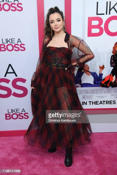 """Vanessa Merrell attends the world premiere of """"Like A Boss"""" at SVA Theater on January 07, 2020 in New York City."""