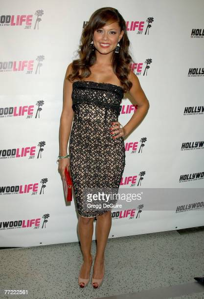 Vanessa Minnillo arrives at Movieline's Hollywood Life Style Awards at the Pacific Design Center on October 7, 2007 in West Hollywood, California.