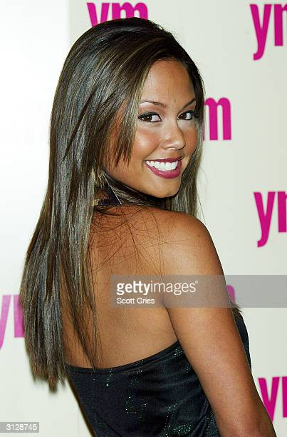 Vanessa Minnillo arrives at the 5th Annual YM MTV Issue party at Spirit March 24 2004 in New York City