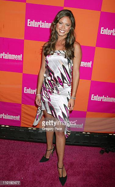 Vanessa Minnillo during Entertainment Weekly's Celebration of The Must List The 137 People Things We Love This Summer Issue Arrivals at CroBar in New...