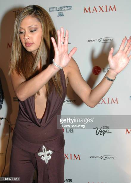Vanessa Minnillo during Maxim Magazine 100th Birthday Celebration - Arrivals at Tryst at Wynn Las Vegas in Las Vegas, Nevada, United States.