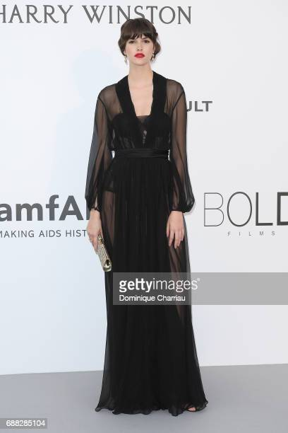 Vanessa Moody arrives at the amfAR Gala Cannes 2017 at Hotel du Cap-Eden-Roc on May 25, 2017 in Cap d'Antibes, France.