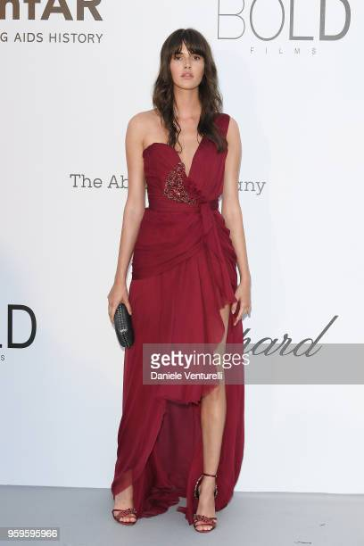 Vanessa Moody arrives at the amfAR Gala Cannes 2018 at Hotel du Cap-Eden-Roc on May 17, 2018 in Cap d'Antibes, France.