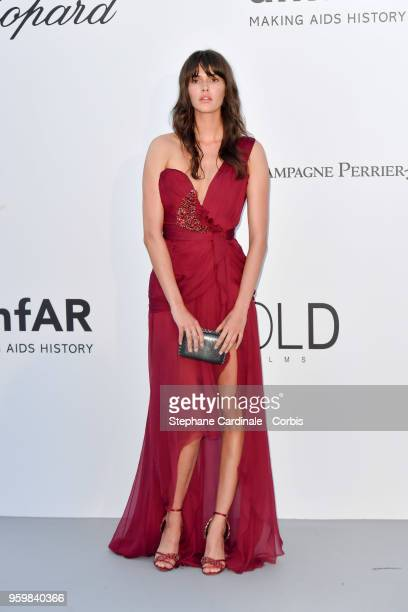 Vanessa Moody arrives at the amfAR Gala Cannes 2018 at Hotel du CapEdenRoc on May 17 2018 in Cap d'Antibes France