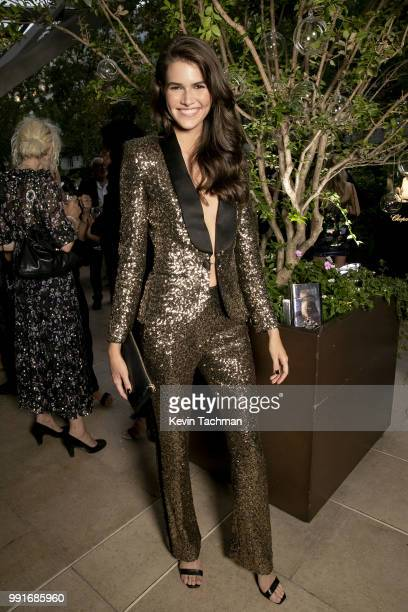 Vanessa Moody attends the amfAR Paris Dinner at The Peninsula Hotel on July 4, 2018 in Paris, France.