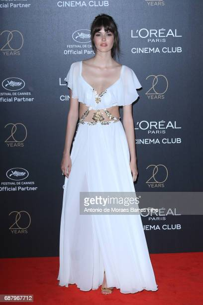 Vanessa Moody attends the Gala 20th Birthday Of L'Oreal In Cannes during the 70th annual Cannes Film Festival at Hotel Martinez on May 24 2017 in...