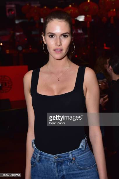Vanessa Moody poses at the Alex Wang's Big Trouble In Little China At The Rainbow Room Powered by Cash App on February 9 2019 at The Rainbow Room in...
