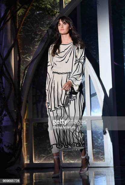 Vanessa Moody walks the runway at the amfAR Gala Cannes 2018 at Hotel du CapEdenRoc on May 17 2018 in Cap d'Antibes France
