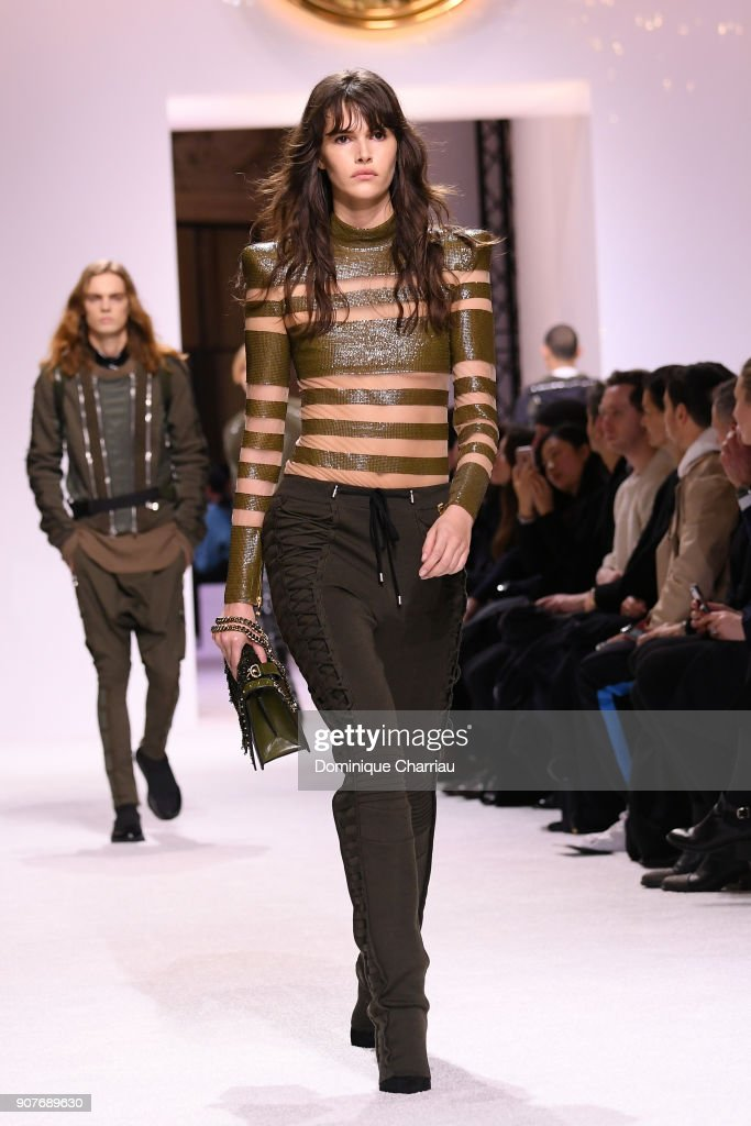 Balmain Homme : Runway - Paris Fashion Week - Menswear F/W 2018-2019