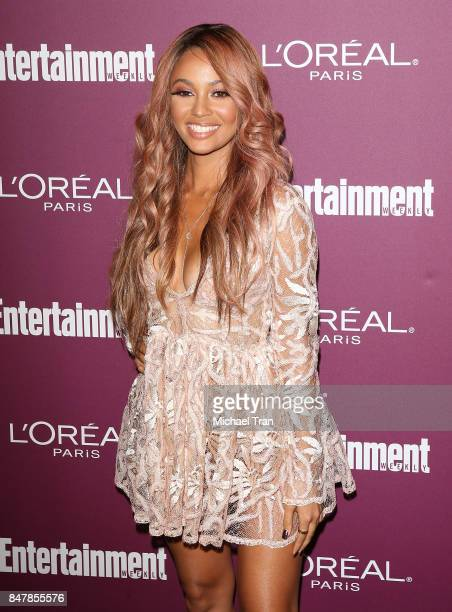 Vanessa Morgan arrives at Entertainment Weekly's 2017 PreEmmy Party held at Sunset Tower Hotel on September 15 2017 in West Hollywood California