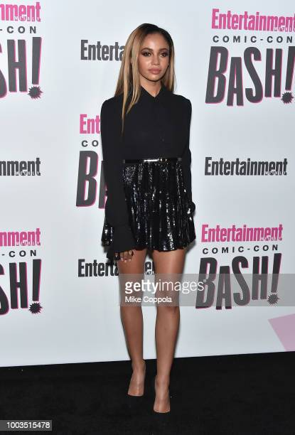 Vanessa Morgan attends Entertainment Weekly's ComicCon Bash held at FLOAT Hard Rock Hotel San Diego on July 21 2018 in San Diego California sponsored...