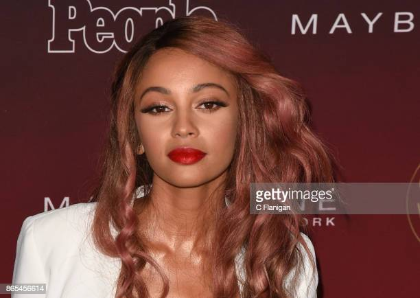 Vanessa Morgan attends People's 'Ones To Watch' at NeueHouse Hollywood on October 4 2017 in Los Angeles California