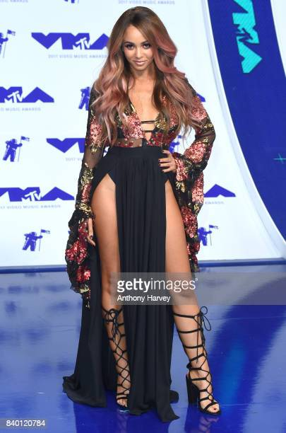 Vanessa Morgan attends the 2017 MTV Video Music Awards at The Forum on August 27 2017 in Inglewood California