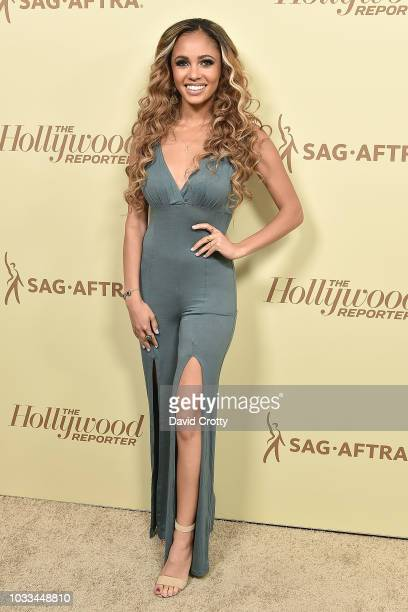 Vanessa Morgan attends The Hollywood Reporter And SAGAFTRA Celebrate Emmy Award Contenders At Annual Nominees Night at Avra Beverly Hills Estiatorio...