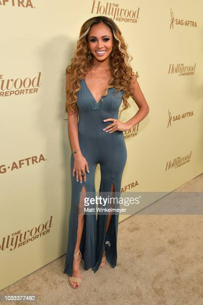 Vanessa Morgan attends The Hollywood Reporter SAGAFTRA 2nd annual Emmy Nominees Night presented by Douglas Elliman and Heineken at Avra Beverly Hills...