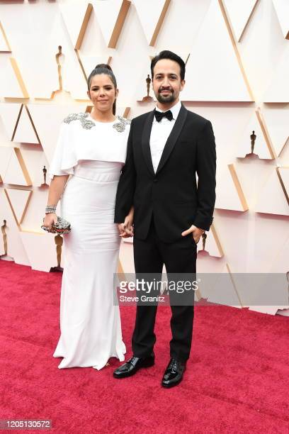 Vanessa Nadal and Lin-Manuel Miranda attend the 92nd Annual Academy Awards at Hollywood and Highland on February 09, 2020 in Hollywood, California.