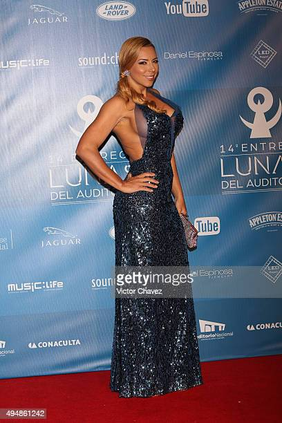 Vanessa Oyarzun La Vecina attends Lunas Del Auditorio Nacional 2015 at Auditorio Nacional on October 28 2015 in Mexico City Mexico
