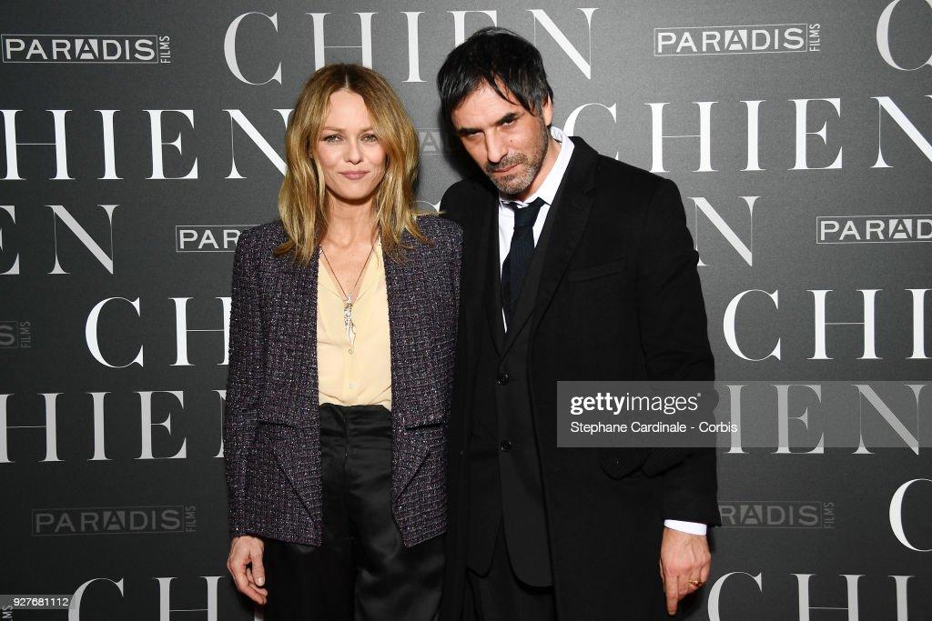 """""""Chien"""" Paris Premiere At MK2 Bibliotheque : News Photo"""