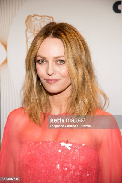 Vanessa Paradis at Salle Pleyel on March 2, 2018 in Paris, France.