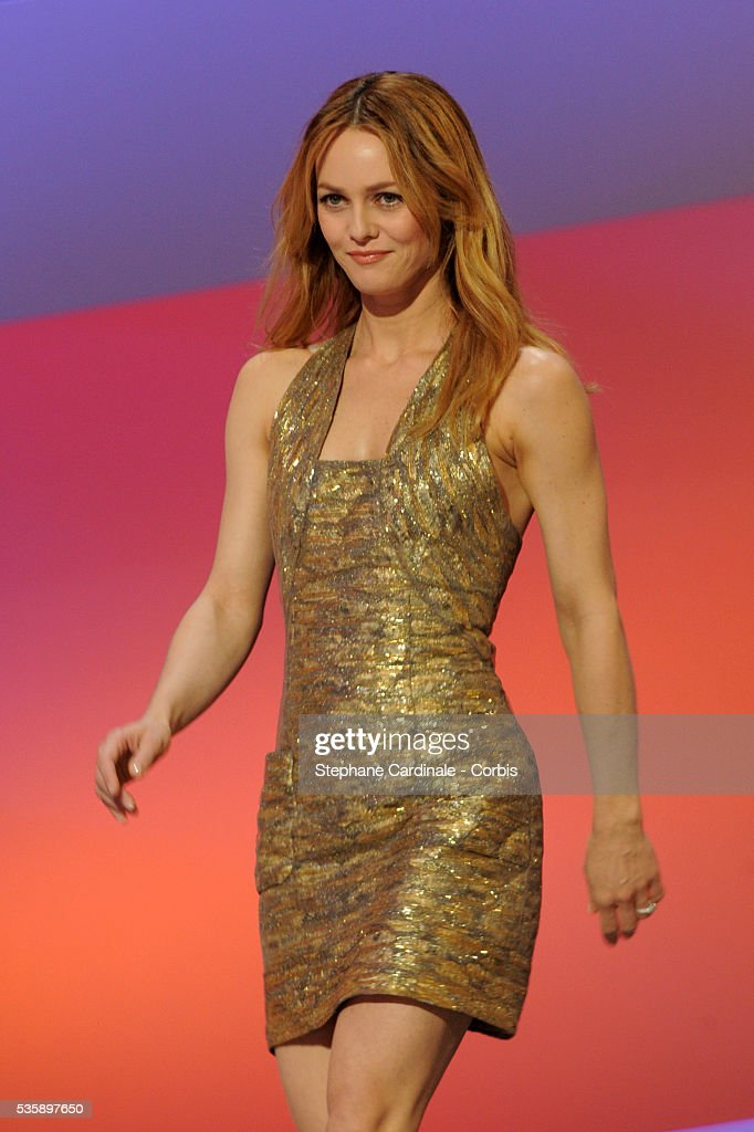 Vanessa Paradis attends the 35th Cesar awards ceremony, held at the Chatelet theater in Paris.