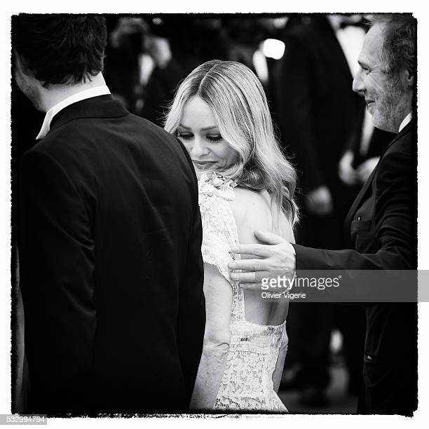 Vanessa Paradis attends the 'Cafe Society' premiere during the 69th annual Cannes Film Festival on may 12th 2016 in Cannes