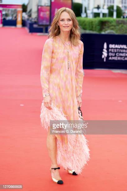Vanessa Paradis attends the opening ceremony at 46th Deauville American Film Festival on September 04, 2020 in Deauville, France.