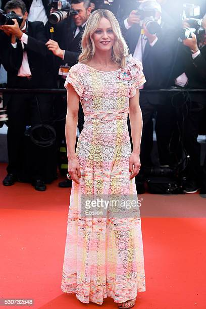 """Vanessa Paradis attends the screening of """"Cafe Society"""" at the opening gala of the annual 69th Cannes Film Festival at Palais des Festivals on May..."""