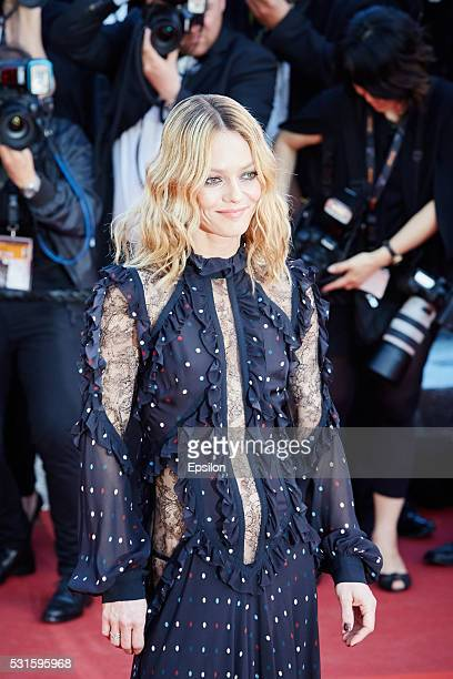 Vanessa Paradis attends the screening of 'From The Land And The Moon ' at the annual 69th Cannes Film Festival at Palais des Festivals on May 15 2016...