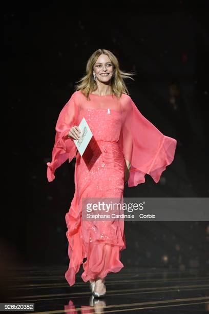 Vanessa Paradis during the ceremony of the Cesar Film Awards 2018 at Salle Pleyel on March 2 2018 in Paris France