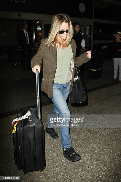 Vanessa Paradis is seen at LAX on October 18 2016 in Los Angeles California