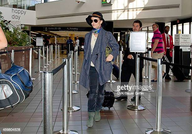 Vanessa Paradis is seen at Los Angeles International Airport on June 13 2012 in Los Angeles California