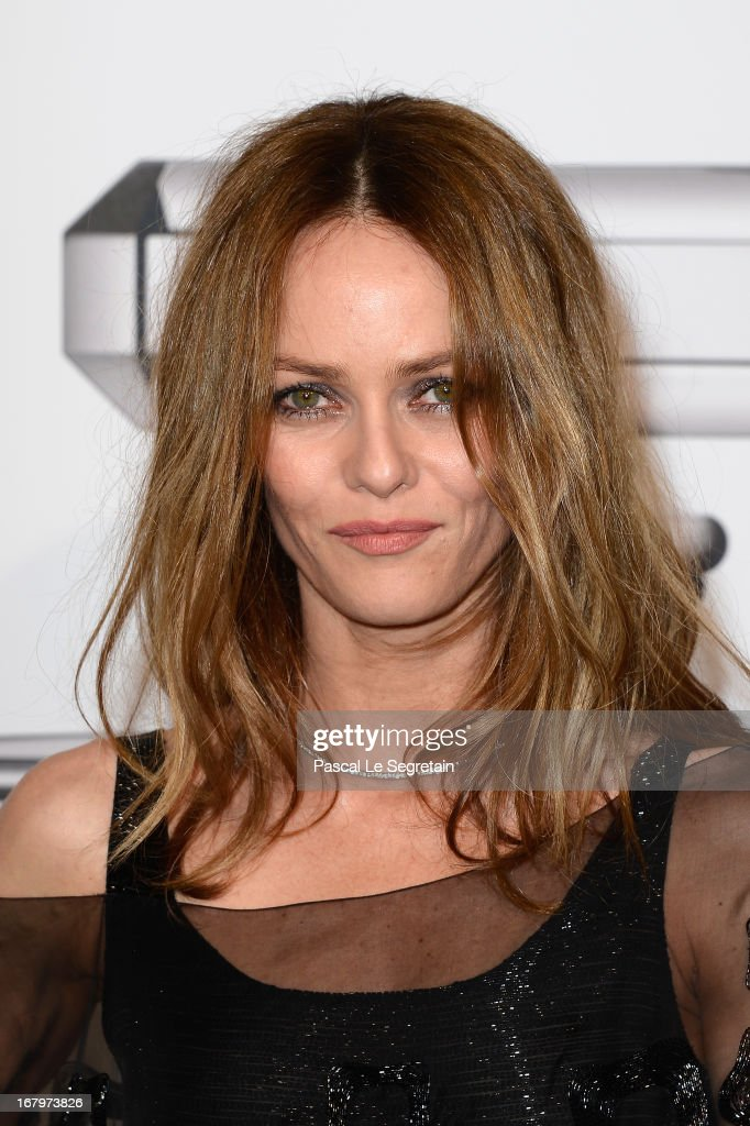 Vanessa Paradis poses during a photocall for 'N°5 Culture Chanel' exhibition at Palais De Tokyo on May 3, 2013 in Paris, France.
