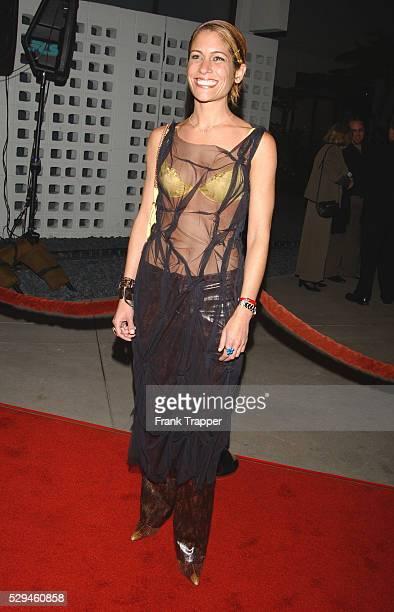 Vanessa Parise arriving at the US premiere of 'Femme Fatale'