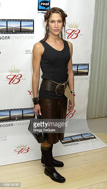 Vanessa Parise during Kevin Spacey's TriggerStreetcom Launches New Content Showcase at Las Vegas Convention Center in Las Vegas Nevada United States