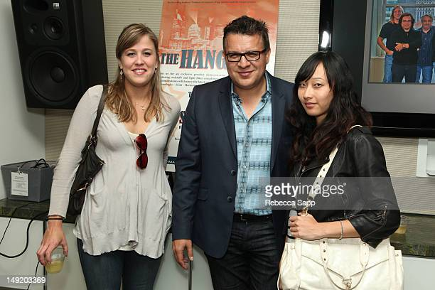 Vanessa Parr Alex Barkaloff and Natasha Lee at I'm A Member And You Should Be Too at The Recording Academy on July 24 2012 in Los Angeles California