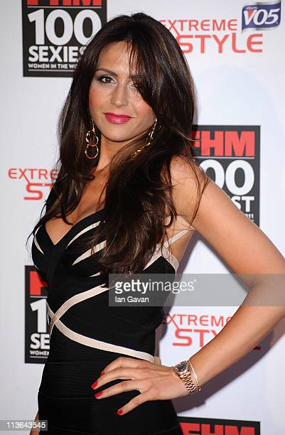 Vanessa Peroncel attends the FHM 100 Sexiest Women In The World Launch Party at One Marylebone on May 4 2011 in London United Kingdom