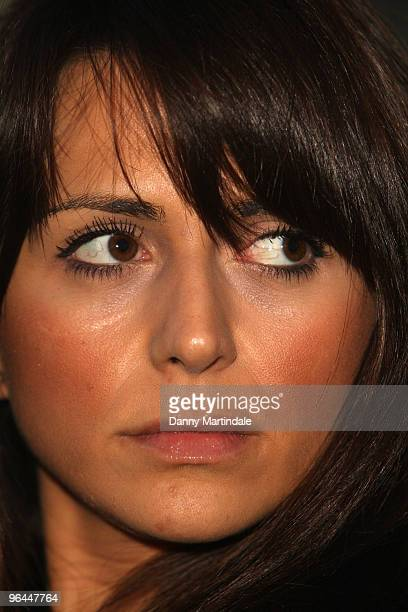 Vanessa Perroncel attends a press conference regarding recent allegations of an affair with John Terry on February 5 2010 in London England John...